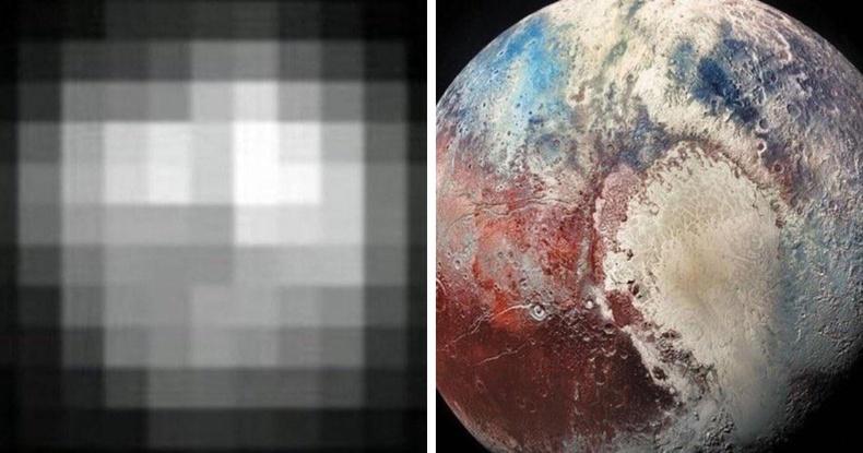 Дэлхийн Ван гаригийн зургийг 15 жилийн дараа бид илүү тод авч чаддаг болсон байна