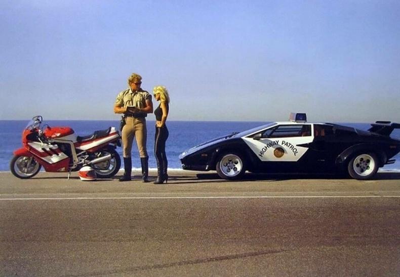 Замын цагдаа - АНУ, 1980-аад он