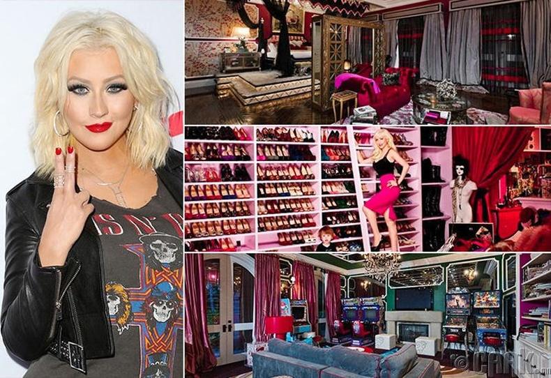 Кристина Агуилера (Christina Aguilera) - Лос Анжелес, 13.5 сая ам.доллар