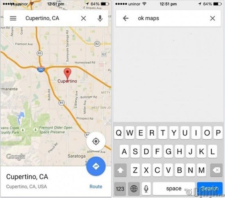 """""""Google Maps"""" -ийг интернет сүлжээнд холбогдоогүй үед хэрэглэх"""