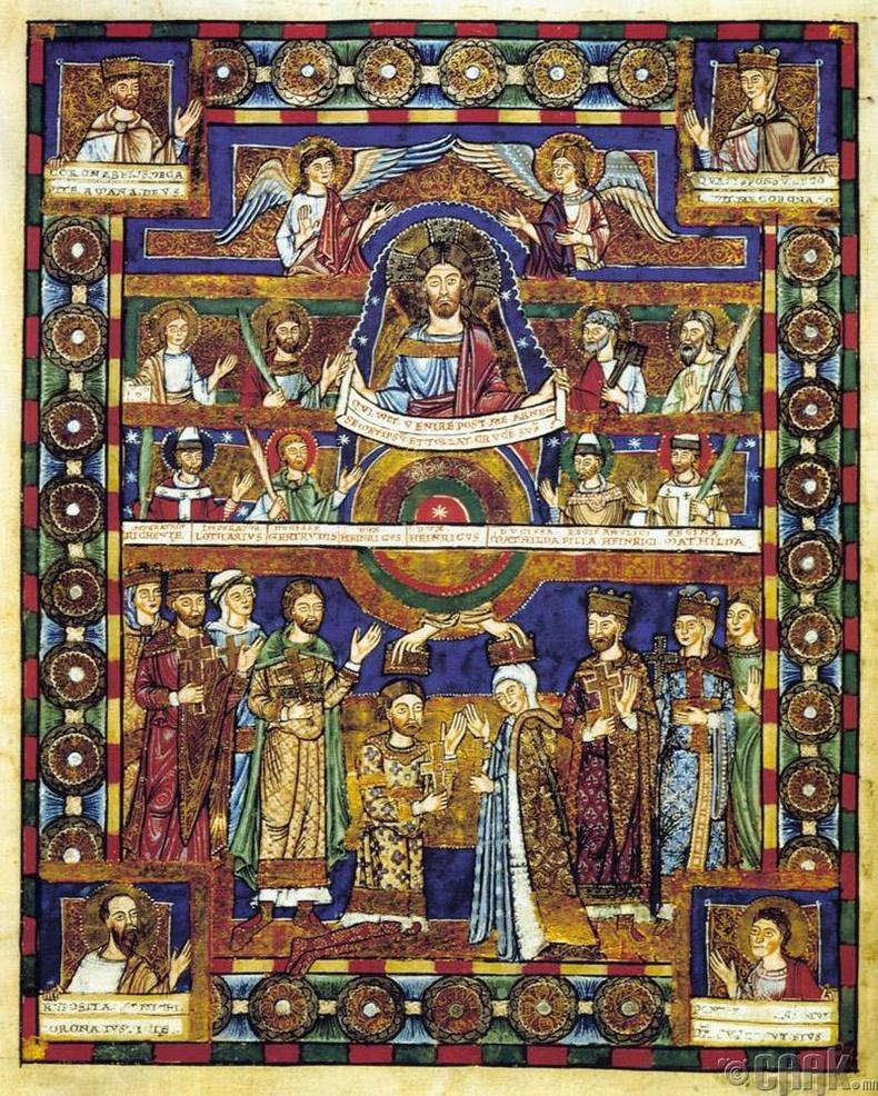 """""""Das Evangeliar Heinrichs des Löwen""""- 12,4 сая ам.доллар"""