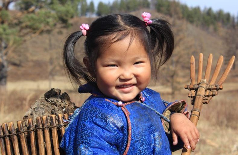 Монголын бяцхан үрс (70 фото) №14