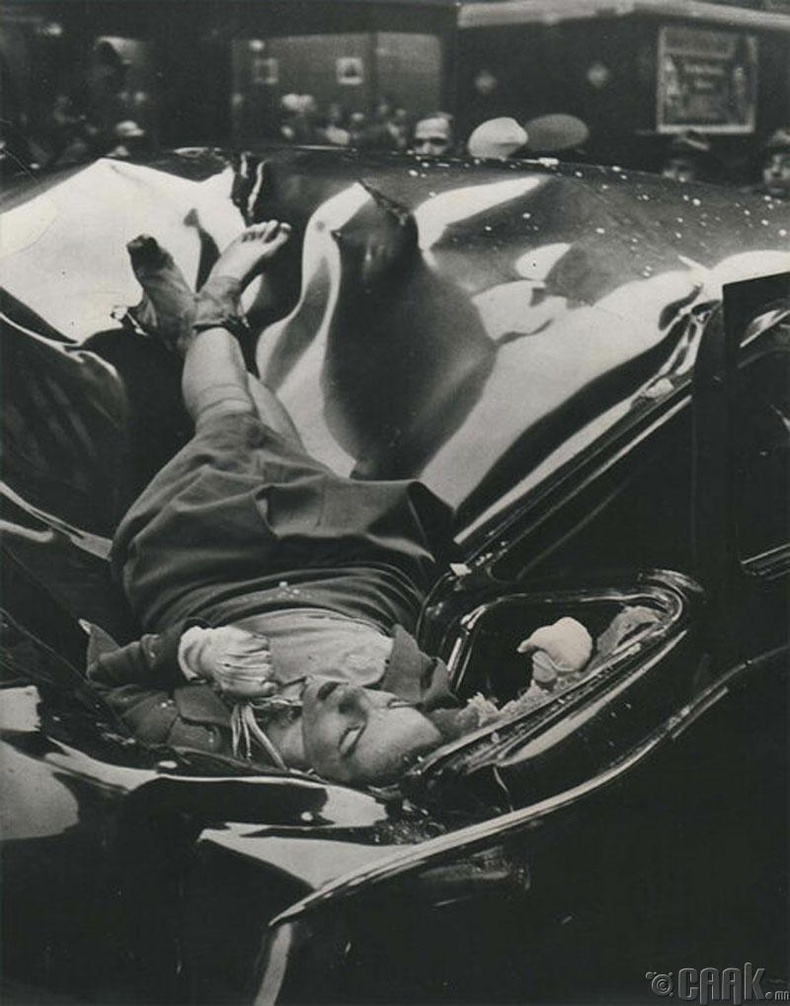 """""""Empire State"""" цамхагийн орой дээрээс үсэрч амиа хорлосон Эвилин Макхэйл (Evelyn McHale) - 1947 он"""
