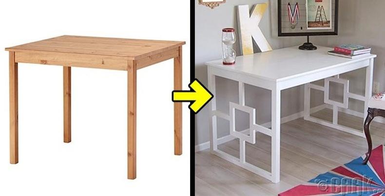 Энгийн тавилгаа илүү загварлаг болгох