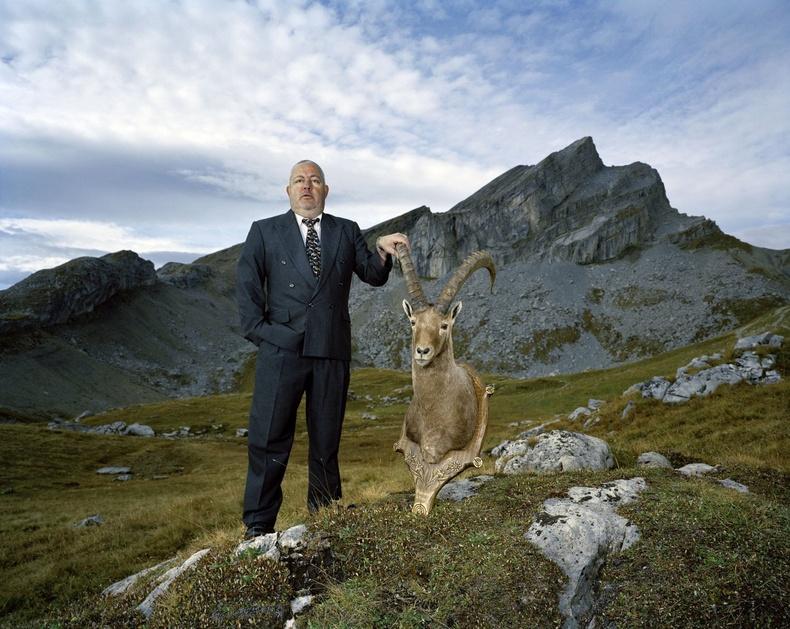 Оливье ба түүний агнасан янгир. Швейцарь, 2009