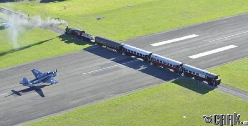 """""""Жисборн"""" нисэх буудал, Шинэ-Зеланд"""