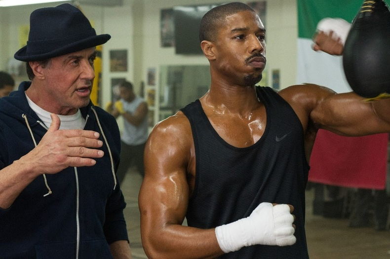 """""""Creed: The Rocky Legacy"""" (2015) - 95%"""