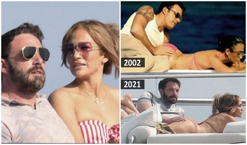 Эргэн нийлсэн Женнифер Лопез, Бен Аффлек нар романтик амралтыг өнгөрүүлж, хуучнаа дурсжээ