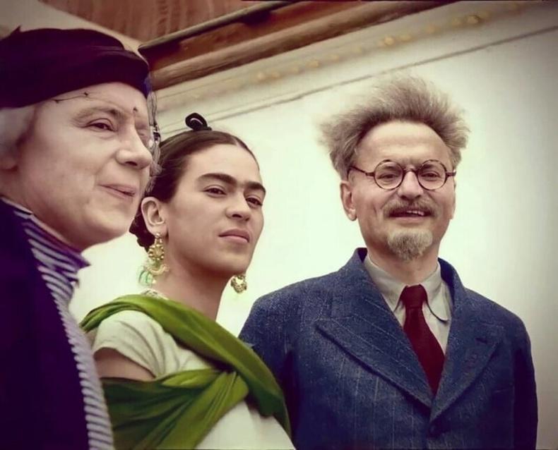 Фрида Кало, Лев Троцкий нар - 1937