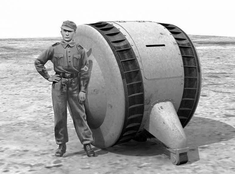 """Холбоотны цэргүүдийг гайхшруулсан Германы """"дугуй танк""""-ны түүх"""