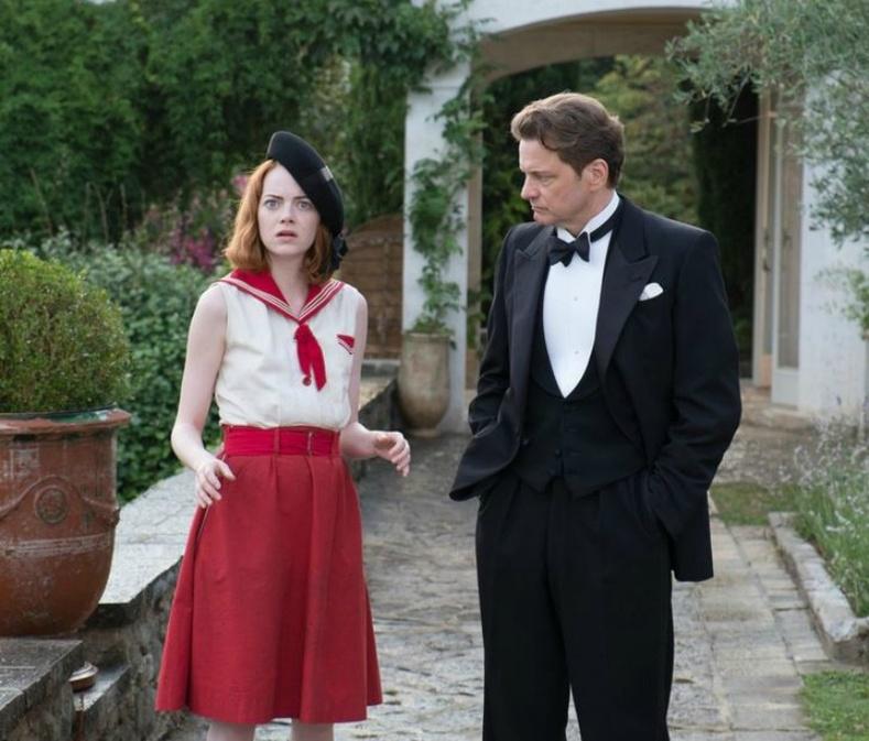 Колин Ферт болон Эмма Стоун («Magic in the Moonlight», 2014)
