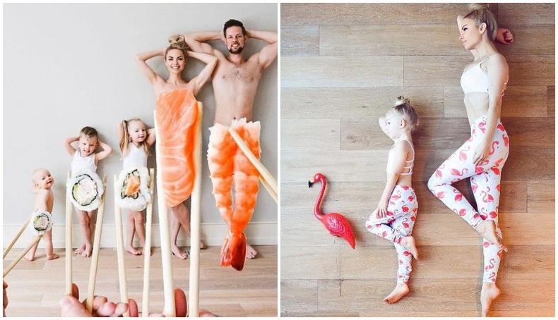 Америк гэр бүлийн хөгжилтэй зургууд