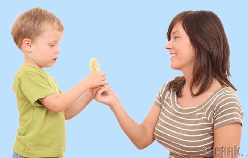 Хүүхэдтэйгээ ярилц