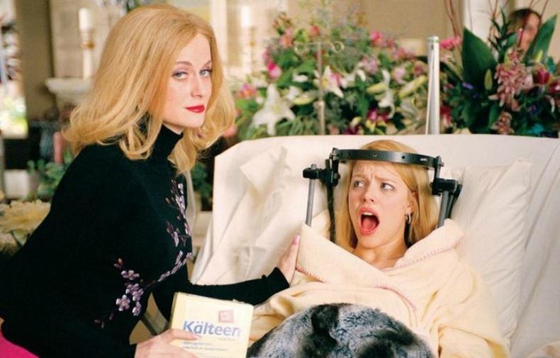 Рейчел Макадамс болон Эми Полер («Mean Girls», 2004)