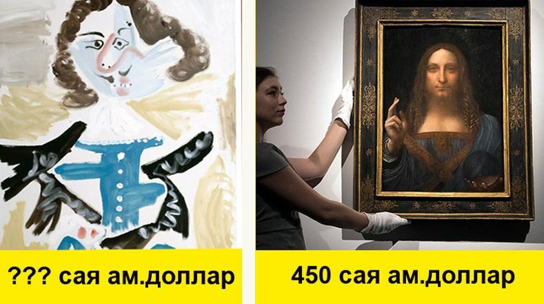 Хэчнээн хараад ч ойлгохооргүй уран зургууд яагаад асар өндөр үнэтэй байдаг вэ?