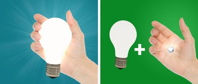 Эрчим хүчгүйгээр чийдэн асаах