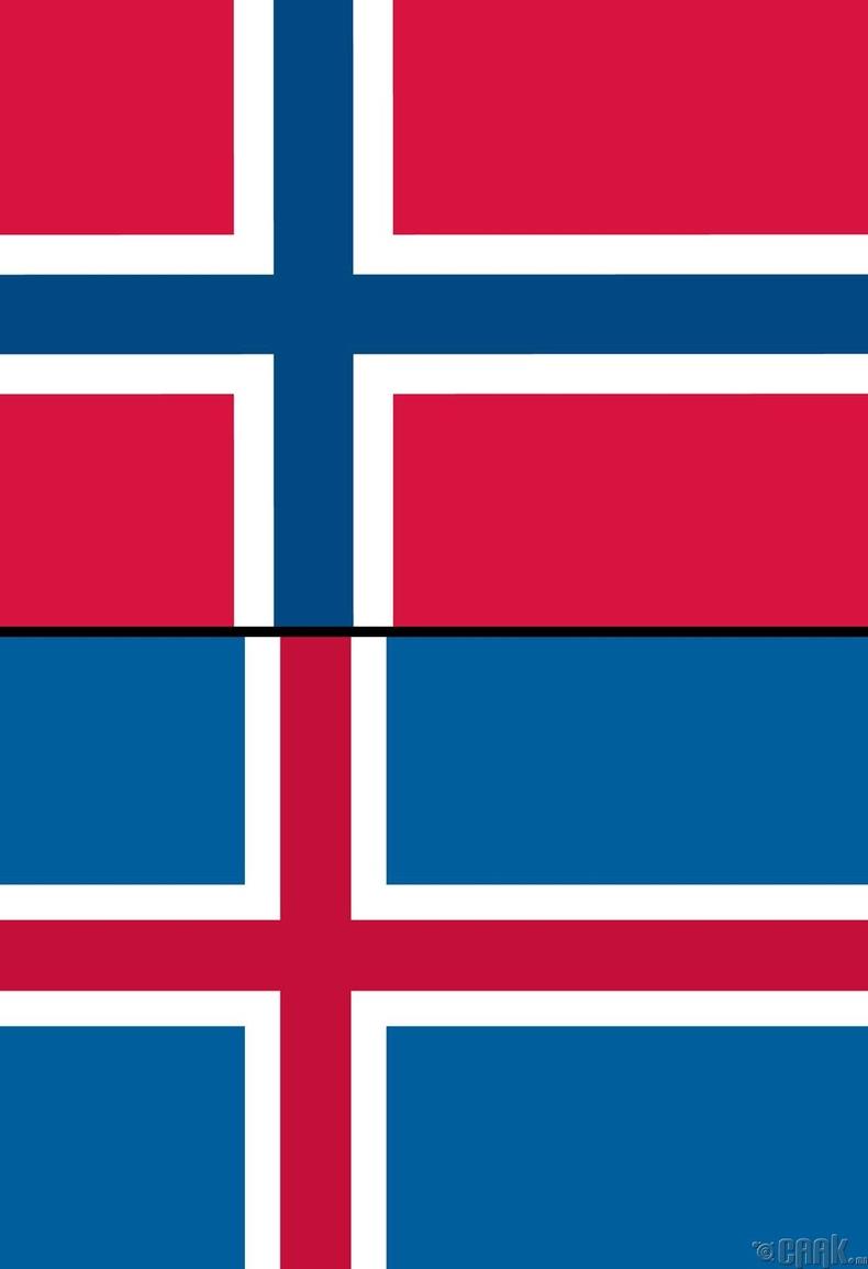 Норвеги (Norway) болон Исланд (Iceland)