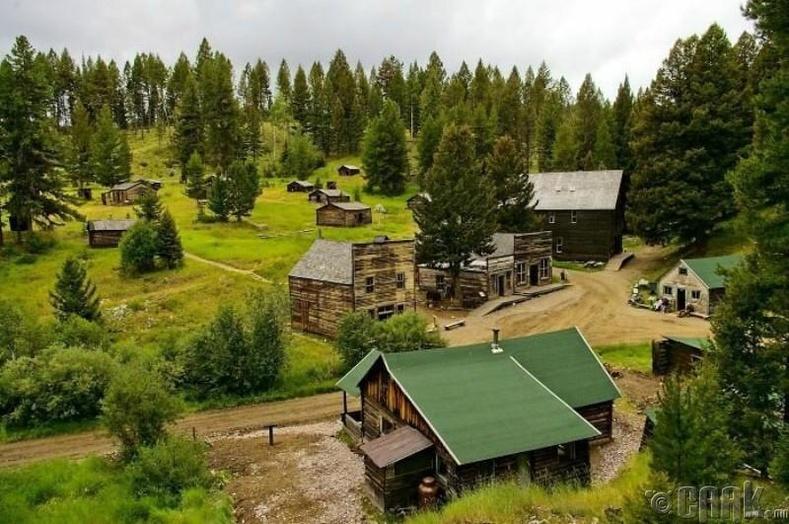 Гарнет, Монтана, АНУ