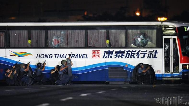 Манилагийн барьцаалагдсан автобус