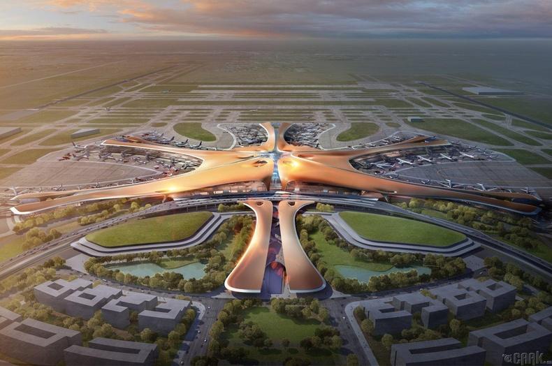 БНХАУ, Бээжин, Олон улсын нисэх онгоцны буудал