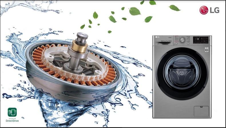 """Инвертор хөдөлгүүртэй """"LG Direct Drive"""" – угаалгын машины найдвартай, удаан хэрэглэгдэх баталгаа"""