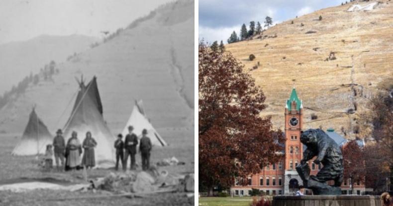 Монтана мужийн их сургууль байралдаг газар 150 жилийн өмнө ийм байжээ