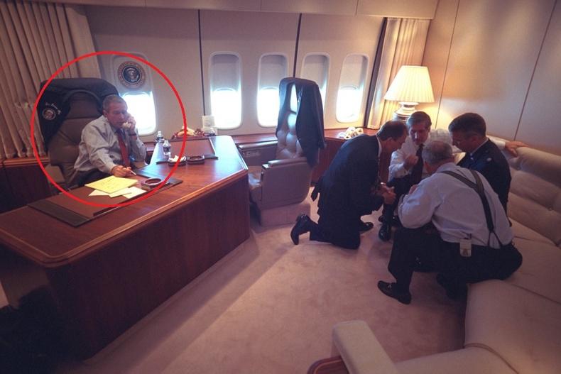Жорж Буш 9-р сарын 11-нд юу хийж явсан бэ?