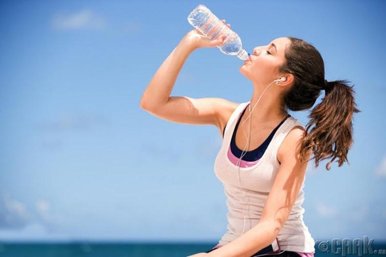 Илүү их ус уух