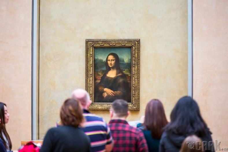Мона Лиза, Парис