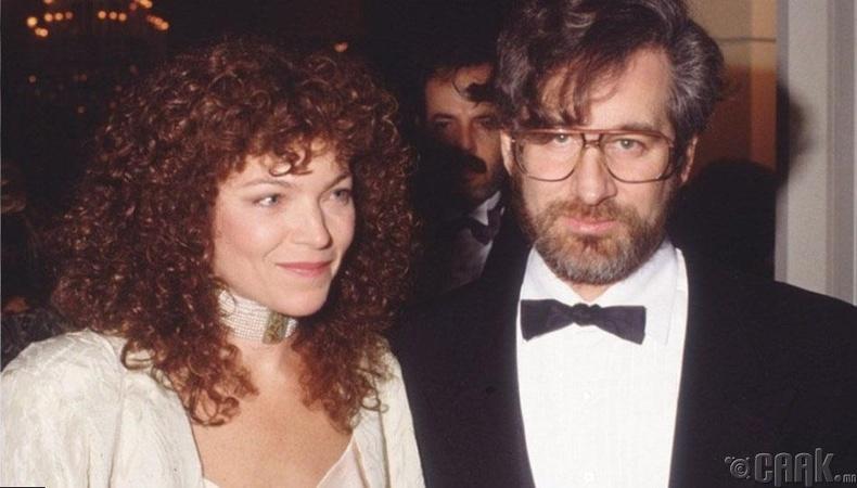 Эмми Ирвин, Стевен Спилберг (Amy Irving & Steven Spielberg) - 100 сая ам.доллар