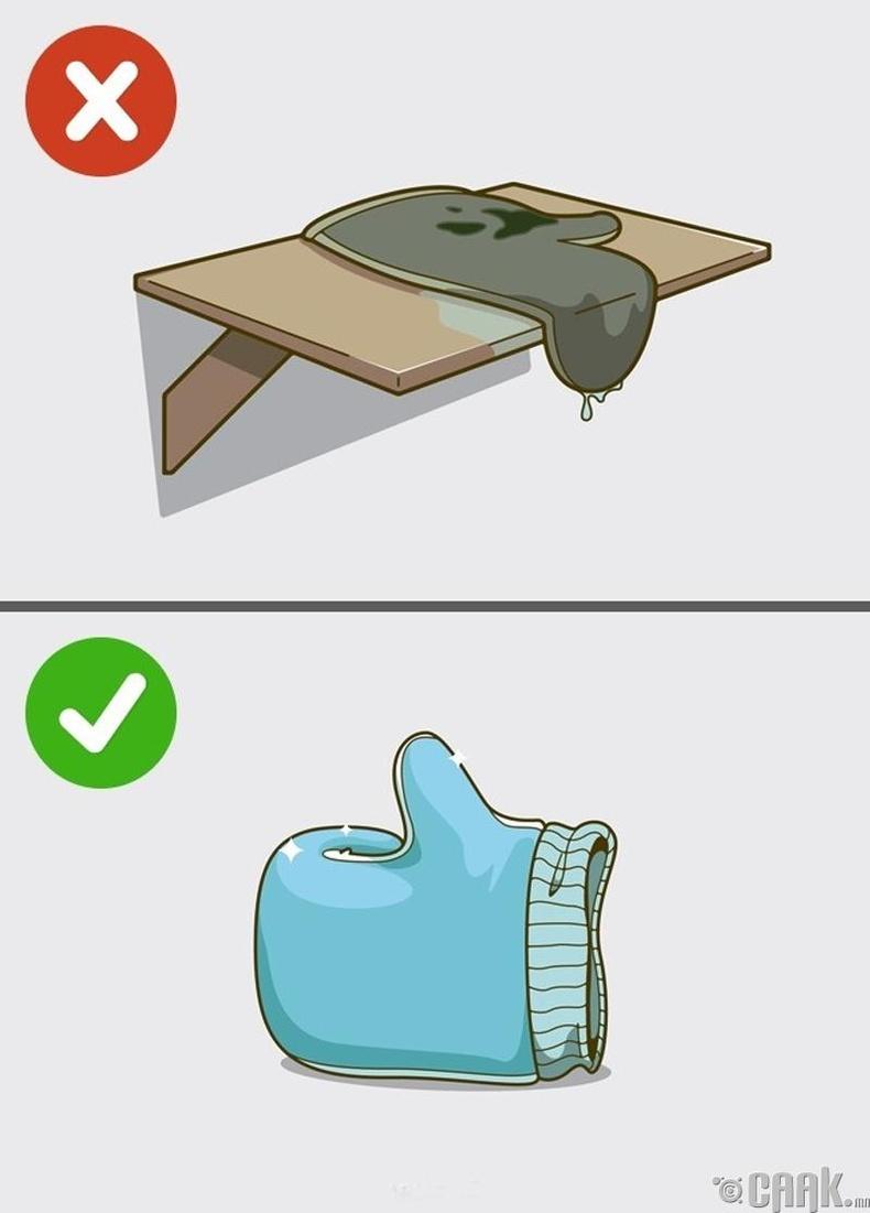Хуучирсан бие угаагч пролон ашиглах