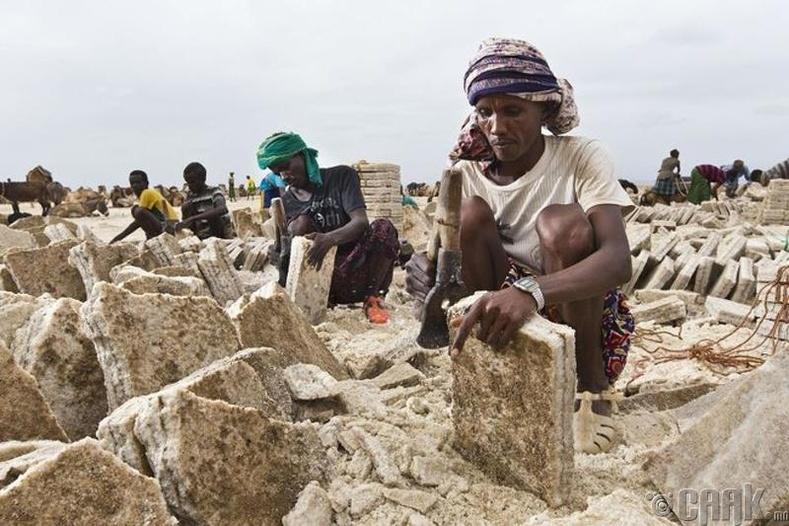 Давсны уурхай, Этиоп