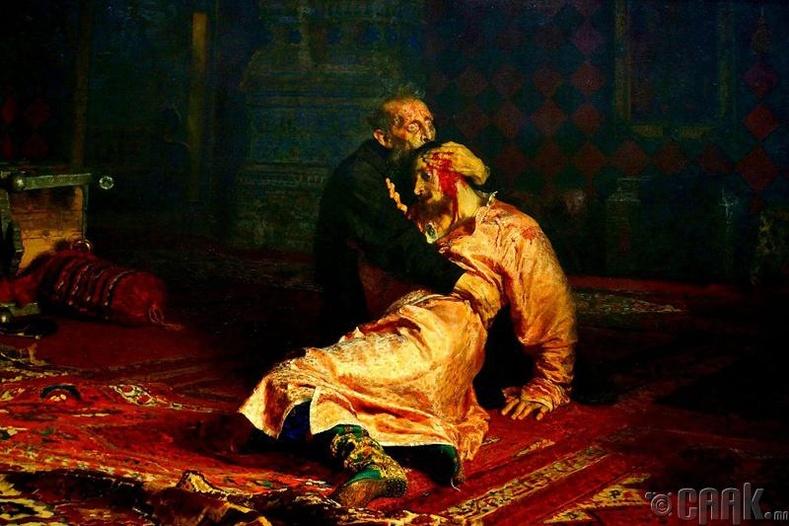 Догшин Иван хаан өөрийн хүүгээ хөнөөсөн