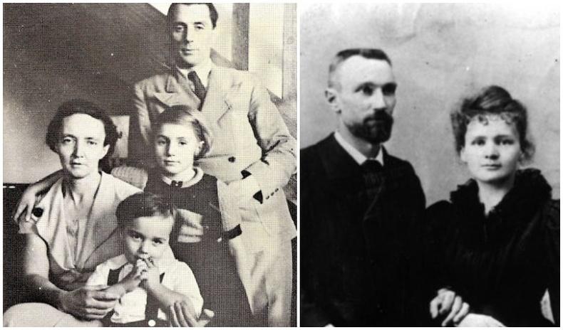 Гэр бүлээрээ Нобелийн шагнал хүртсэн эрхмүүдийн түүх