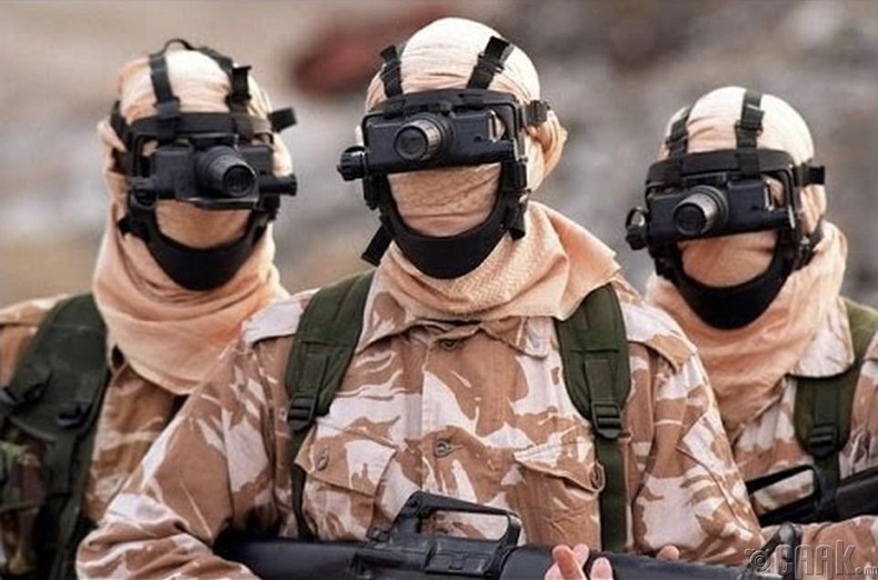Английн агаарын цэргийн тусгай хүчин