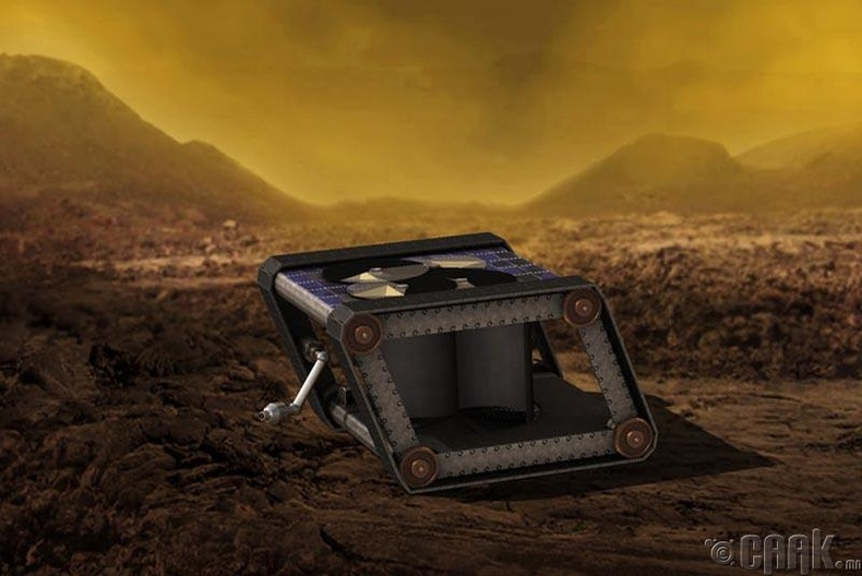 """Сугар гариг дээрх """"Clockwork Rover"""""""