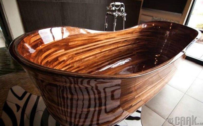 30 мянган долларын үнэтэй модон ванн