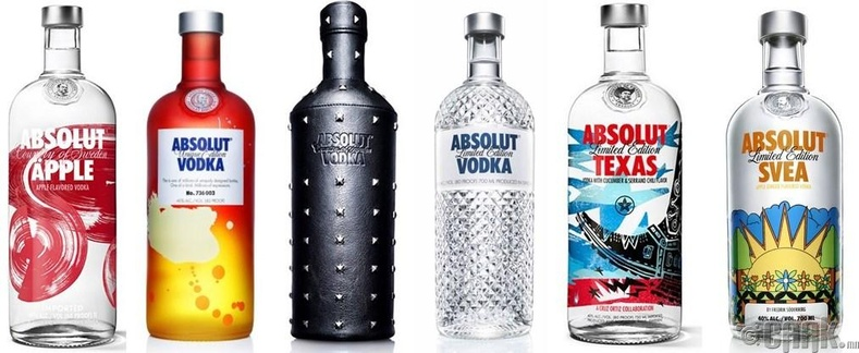 "Absolut Vodka:  ""The Absolute Bottle"""