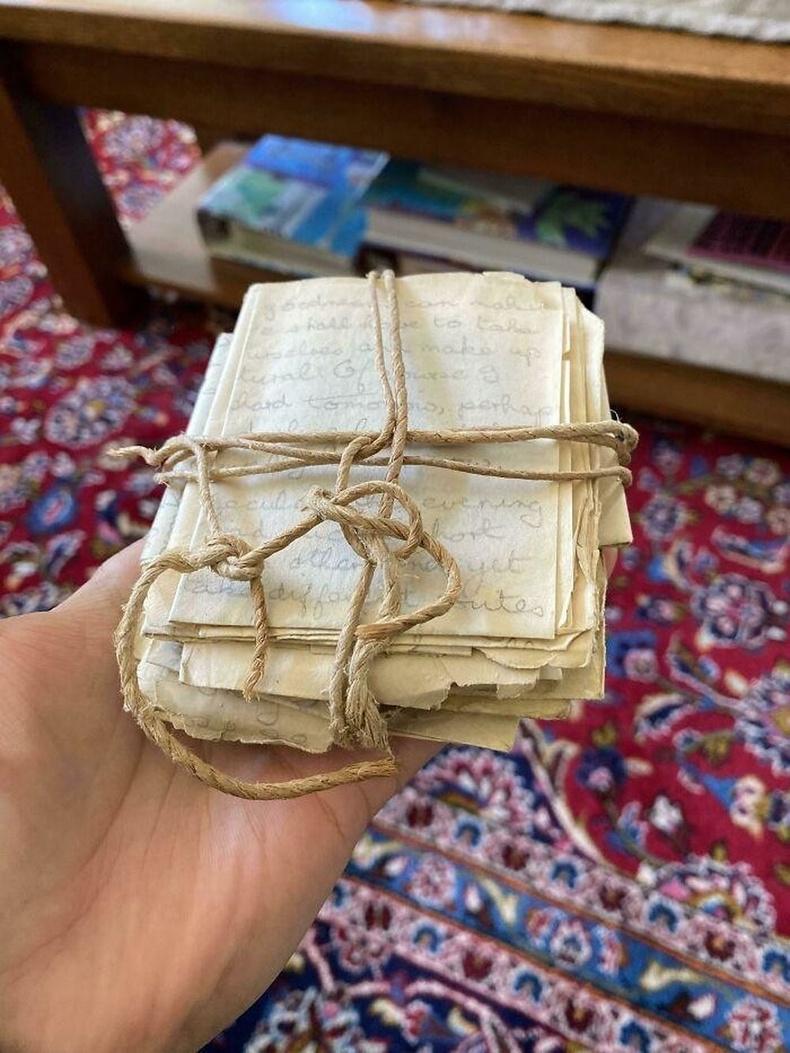 Хуучны хананаас хайрын захидлууд олжээ