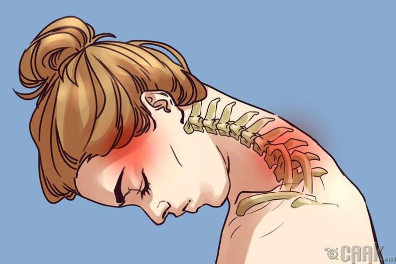Хүзүү, мөрний дасгал
