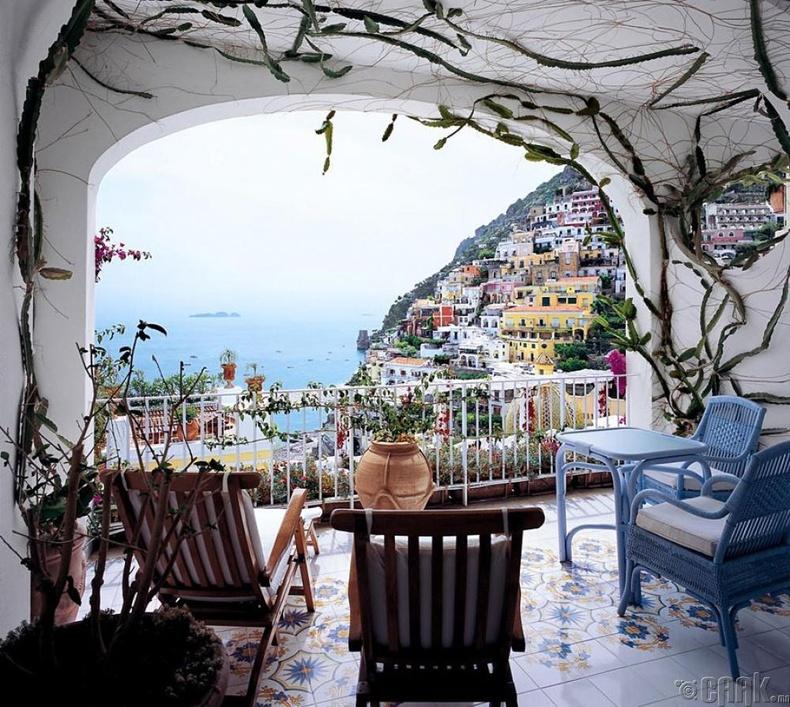 """""""Le Sirenuse"""" зочид буудал, побережье Амальфи эрэг, Итали"""
