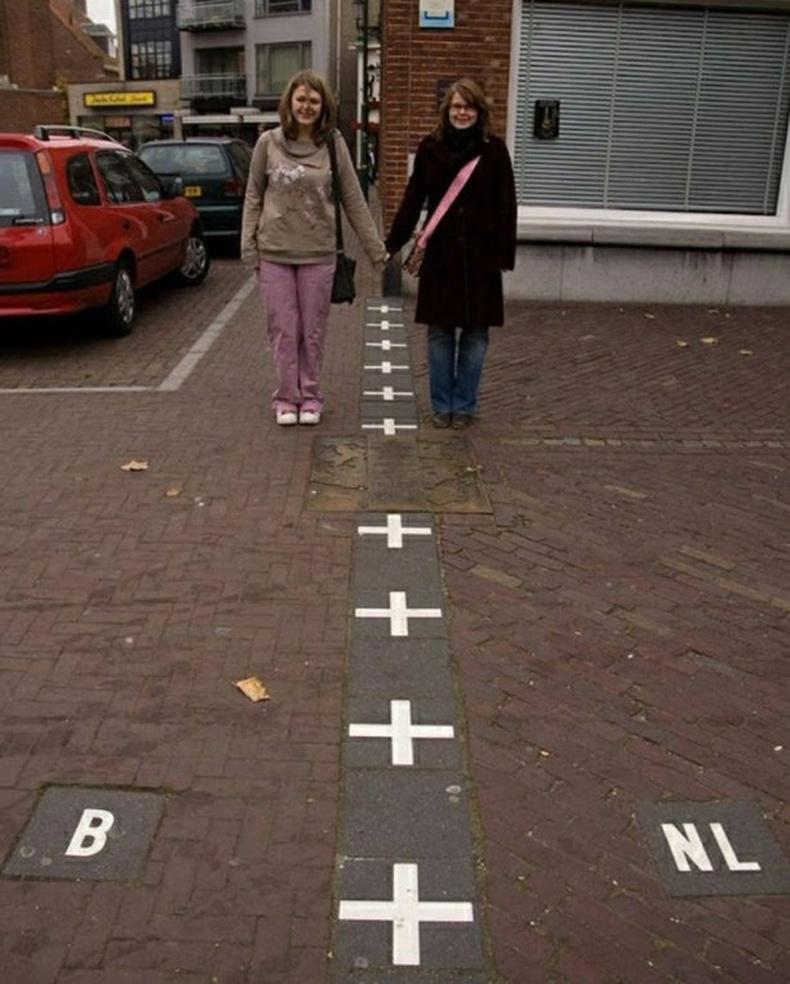 Бельги, Нидерландын хил