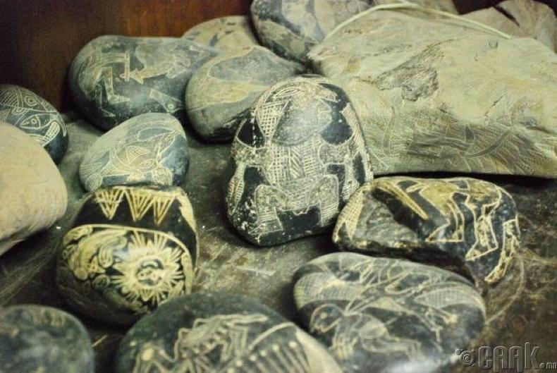 Колумбийн өмнөх үеийн Ика чулуунууд
