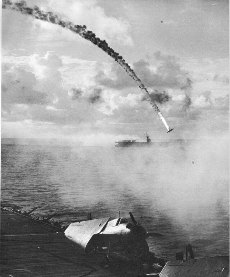 Сөнөж буй Японы онгоц - 1944 он, Сайпаны тулааны үеэр