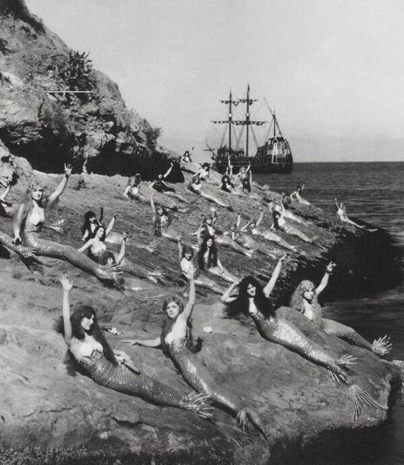 """""""Peter Pan"""" киноны зураг авалт, 1924 он."""