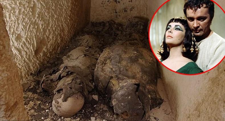 Археологчид Клеопатра хатан болон түүний амрагийн шарилыг олсон болохоо зарлажээ