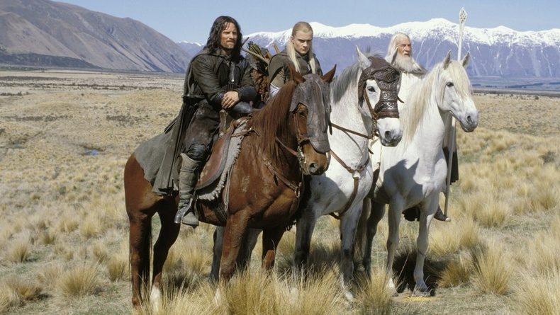 """""""The Lord of the Rings: Two Towers"""" (2002) - 95%"""