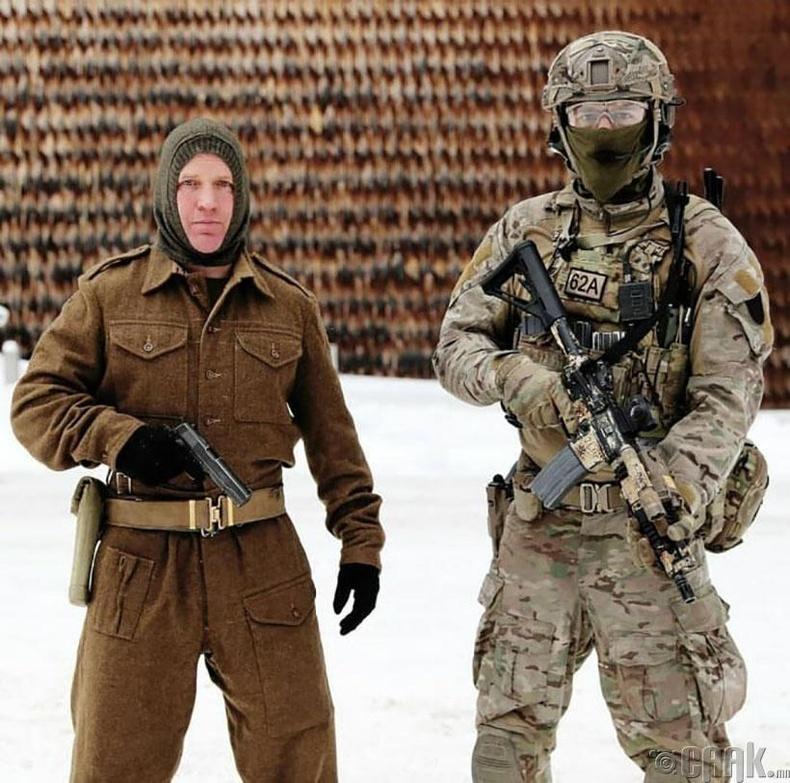Норвеги цэргийн хувцас, зэвсэг 75 жилийн хугацаанд ингэж өөрчлөгджээ