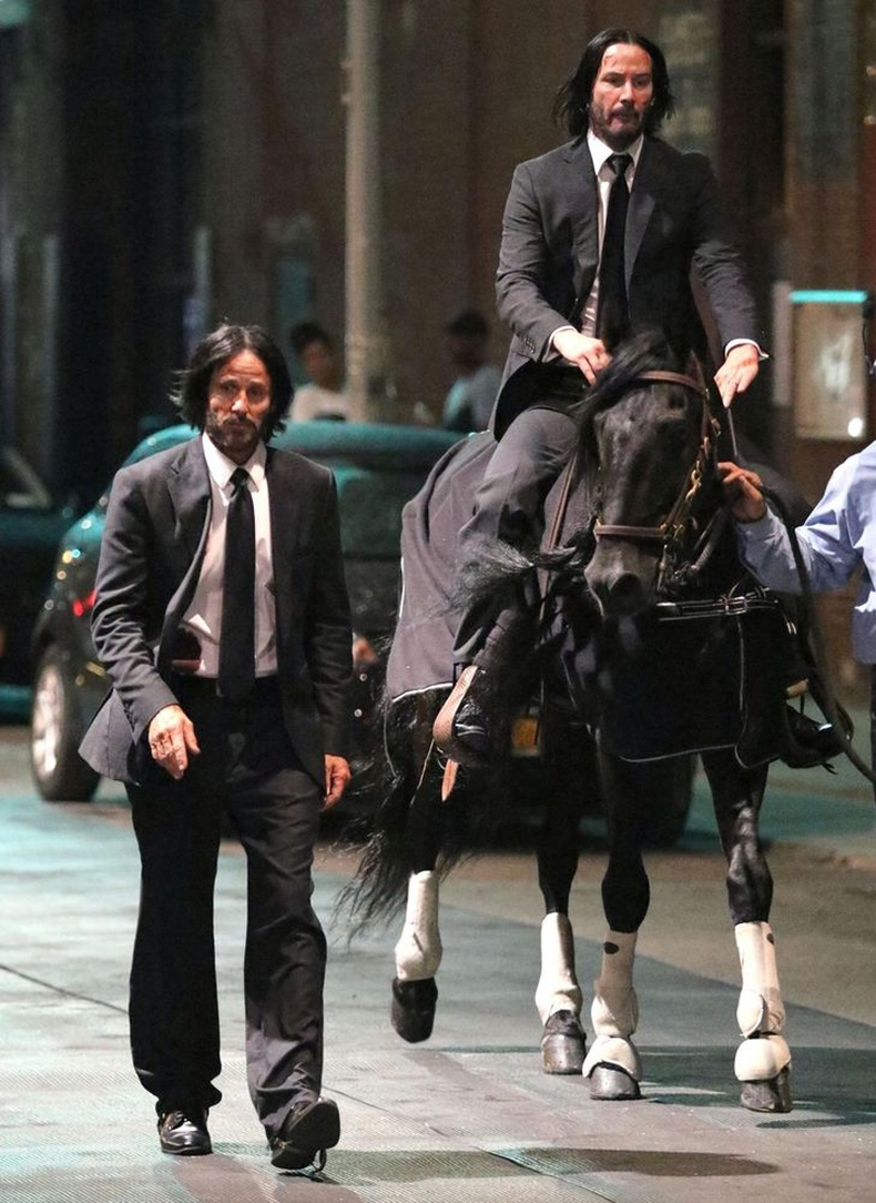 "Киану Ривз (Keanu Reeves) ""John Wick - 3"" кино"