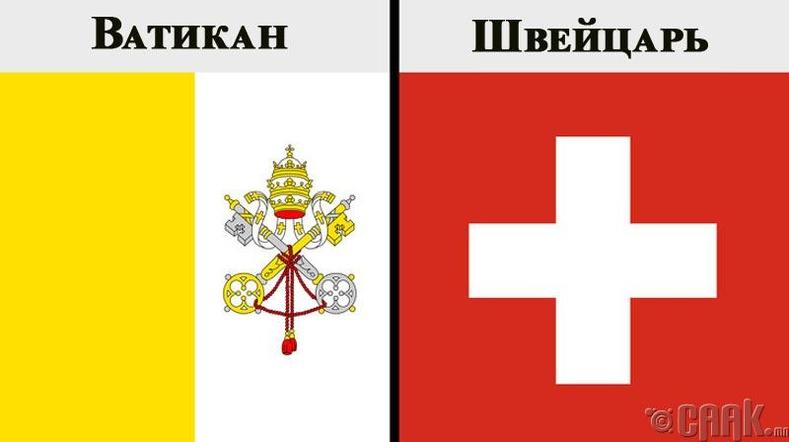Ватикан, Швейцарь
